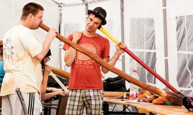 Didgeridoo-Workshop mit Marc Miethe